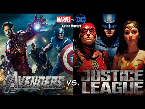 The Avengers vs. Justice League: Marvel vs. DC At the Movies