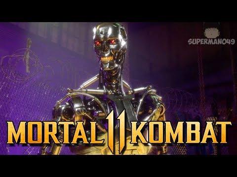 "I Can't Believe I Won With The Endoskeleton... - Mortal Kombat 11: ""Terminator"" Gameplay"