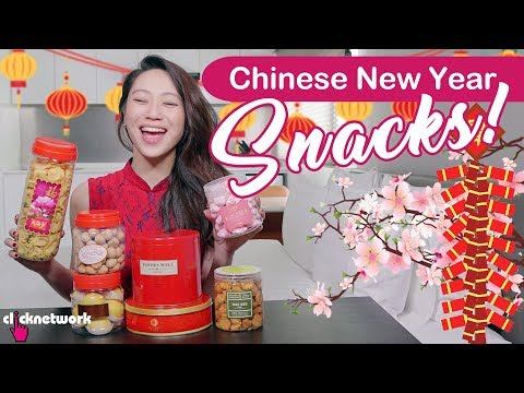 Chinese New Year Snacks! - Tried and Tested: EP128