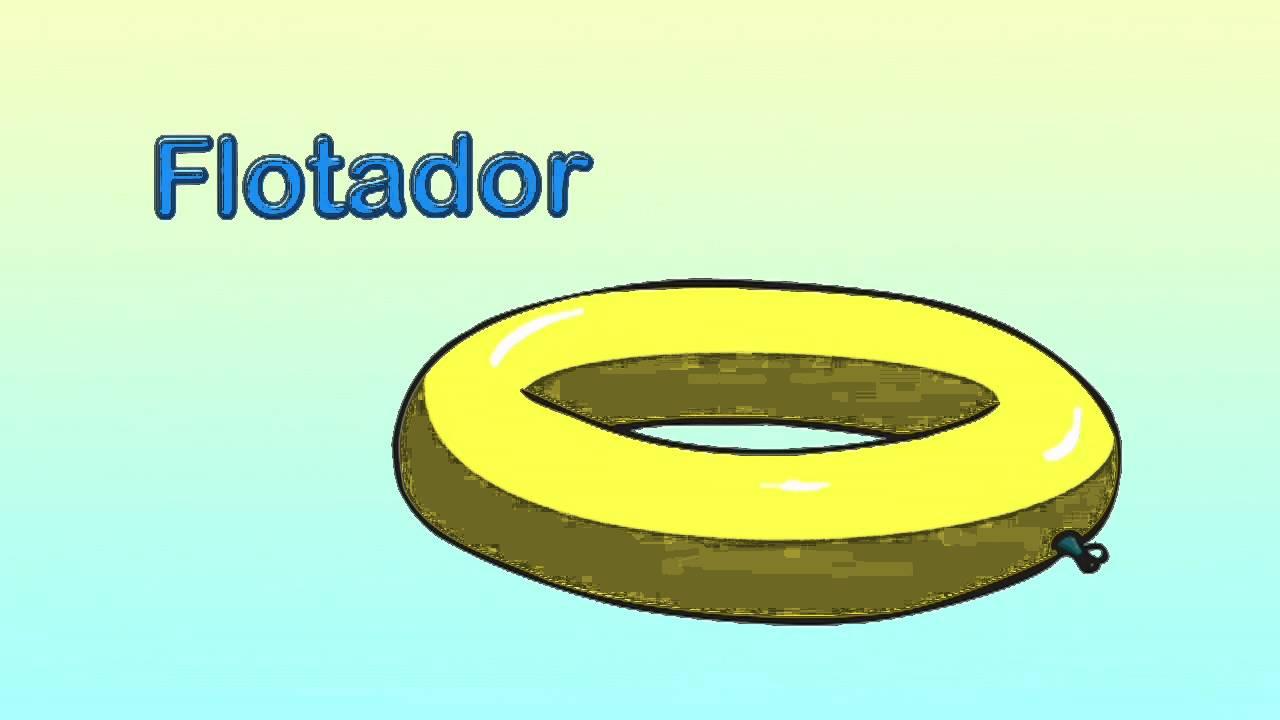 Cómo se dice flotador en inglés.