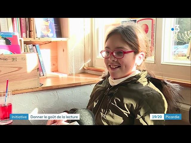 Lire dans les bistrots de pays de l'Oise - France 3 Picardie 19/20