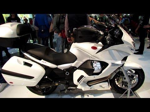 2014 Moto Guzzi Norge GT 8V Walkaround - 2013 EICMA Milan Motorcycle Exhibition