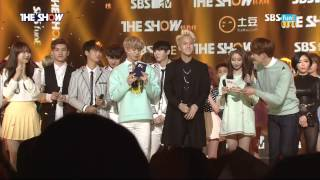 20150317 THE SHOW 1위발표+엔딩 빅스(VIXX) 트리플크라운 소감+앵콜