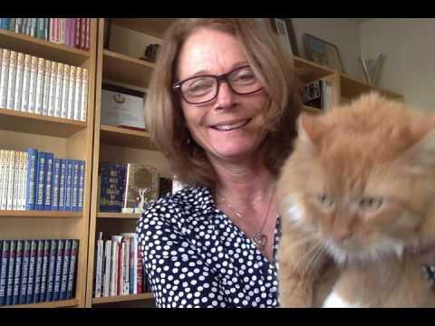 Susin Nielsen talks all things 'Optimists Die First' avec cat