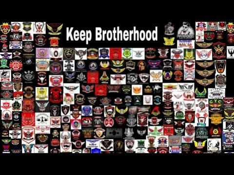 Keep Brotherhood. Logo Bikers Indonesia