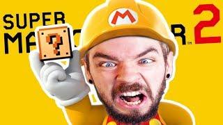 ROSS'S NEW INSANE LEVEL   Super Mario Maker 2 #2