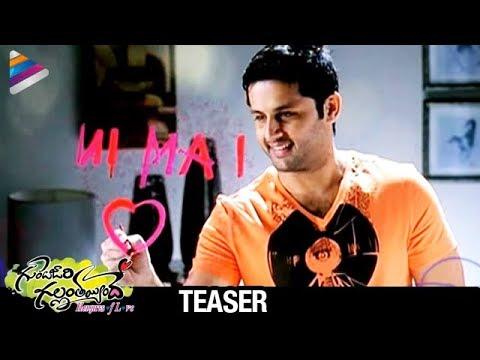 Gunde Jaari Gallanthayyinde Movie Teaser - Nitin, Nithya Menon