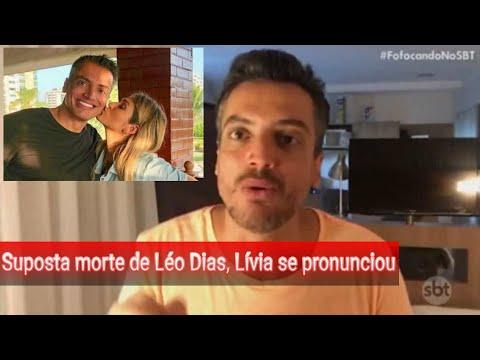 🔴💣🔥Lívia Andrade quebra o silêncio após anúncio da morte de Leo Dias