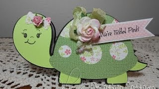 Create A Critter Baby Turtle Shape Card