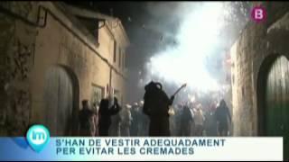 preview picture of video '13 08 16 Correfoc Porreres IB3 La Mirada'