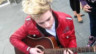 Джон Граймс, John Grimes Playing The Guitar To Us