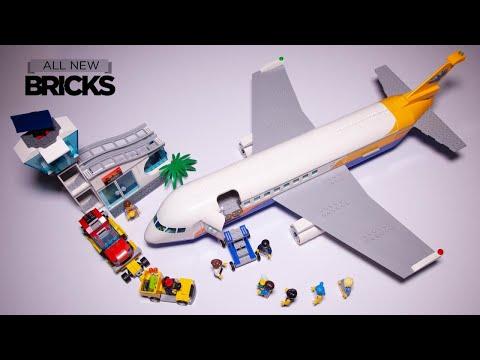 Vidéo LEGO City 60262 : L'avion de passagers