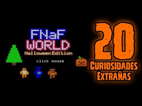 TOP 20: 20 Curiosidades Extrañas Del Five Nights At freddy's World Halloween Edition | FNAF World