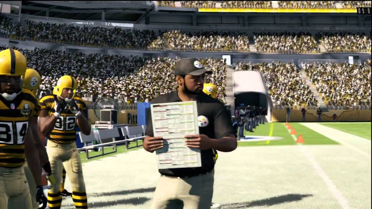 Madden NFL 13 Delivers The Ultimate Throwback Look: No Facemasks