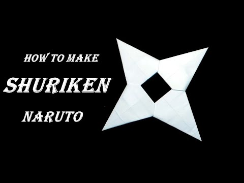 Easy Paper Kunai Knife Naruto REMAKE - YouTube | 360x480