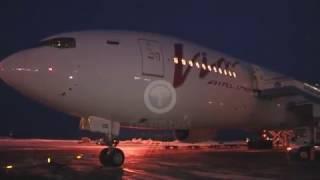 Рейс повышенной комфортности. В Благовещенском аэропорту впервые приземлился Боинг-777.