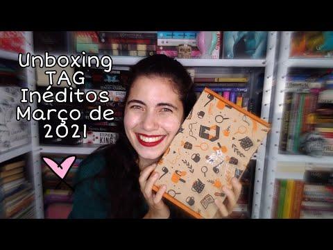 Unboxing TAG Inéditos | Livros Meus Mimos ?