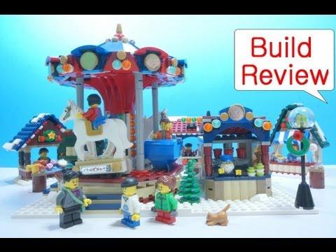 Vidéo LEGO Creator 10235 : Le marché d'hiver