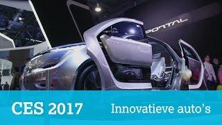 Drie innovatieve auto's op CES 2017: Honda Neuv, Chrysler Portal en Faraday Future FF91