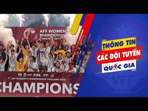 ĐT nữ Việt Nam vô địch AFF Cup 2019 sau chiến thắng trước ĐT Thái Lan