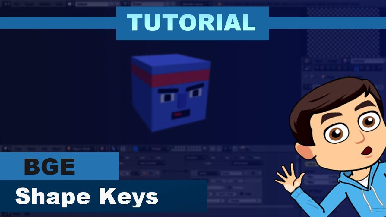 Tutorial - Shape Keys | Blender Game Engine