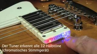 Shadow E-Tuner Humbucker Frame Curved Top Video