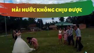 10 video có thật hài hước khó tin nhất năm 2018 về những đám cưới