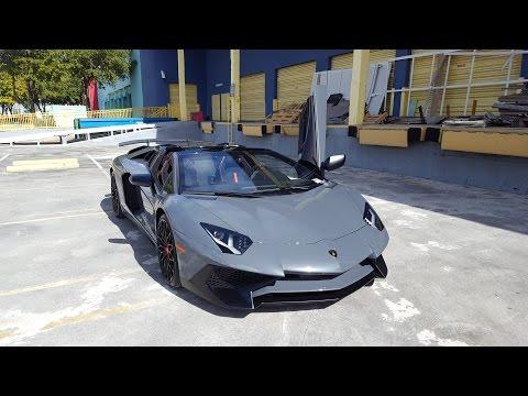 Lamborghini Aventador Sv Lp750 4 Roadster Exhaust Sound Revs