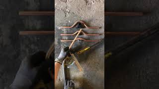 P b plumber, how to bend copper pipe, full step over / pass over / cross over