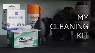 4 Essentials In My Camera Gear Cleaning Kit