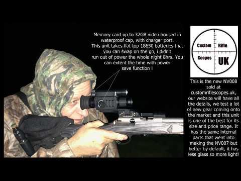 Pard NV008 Day & Night rifle scope