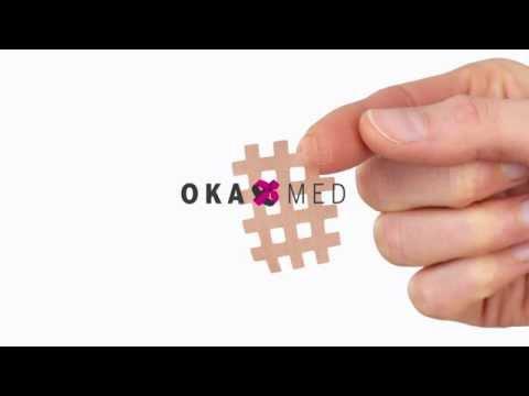 Gitterpflaster (Crosstape, Spiraltape, Kinesiotape, Tape, Akupunkturpflaster) - Infovideo