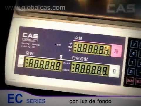 Bascula Contadora CAS Mod. EC