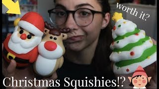CHRISTMAS  SQUISHY PACKAGE! Worth It?
