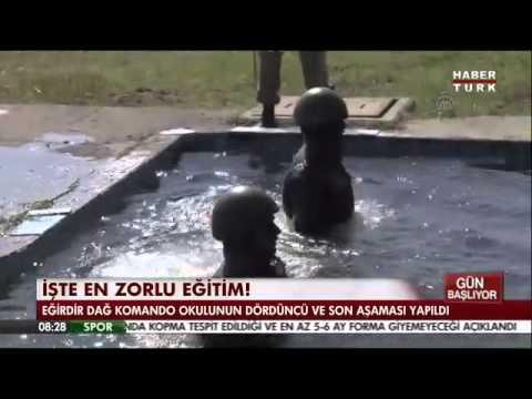Komandolar Yılanlarla Dolu Sudan Böyle Geçti