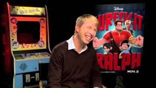 WRECK-IT RALPH - Interview with Jack McBrayer (voice of Fix-it Felix Jr.)