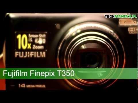 Wideo test i recenzja aparatu Fujifilm Finepix T350 | techManiaK.pl