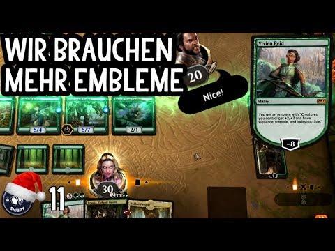 Emblemparty mit Vivien, Nissa, Vraska & Garruk | Magic Arena Gameplay