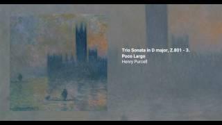 Trio Sonata in D major, Z.801