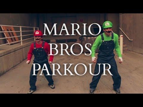 Super Mario Parkour cực đỉnh