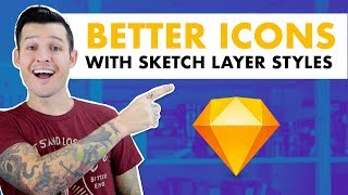 Better Icons with Sketch Layer Styles