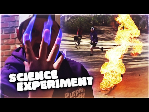 SCIENCE EXPERIMENTS WITH THE TK HOUSE!