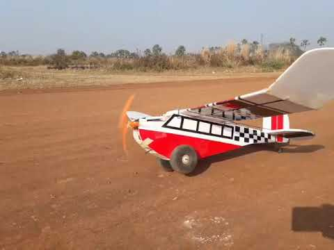 Slowfly Homemade Rc Plane Test Flight - смотреть онлайн на