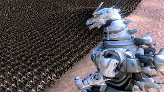 MECHA GODZILLA ATTACKS!!! | Ultimate Epic Battle Simulator HD
