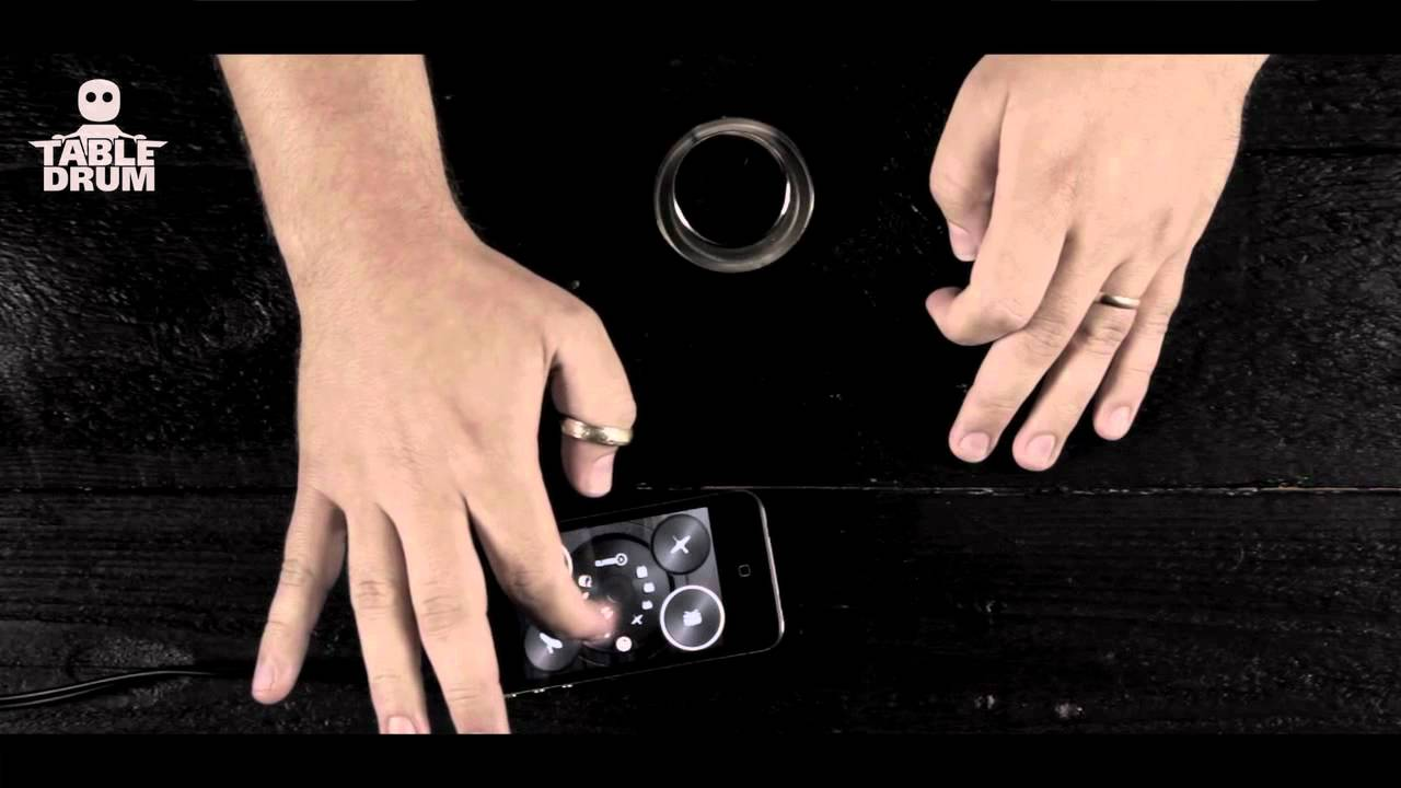TableDrum Turns Your Nervous Finger Tapping Into Rocking Beats