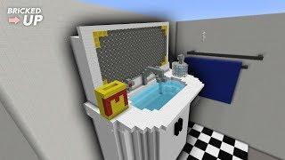 MineCraft Giant Bathroom