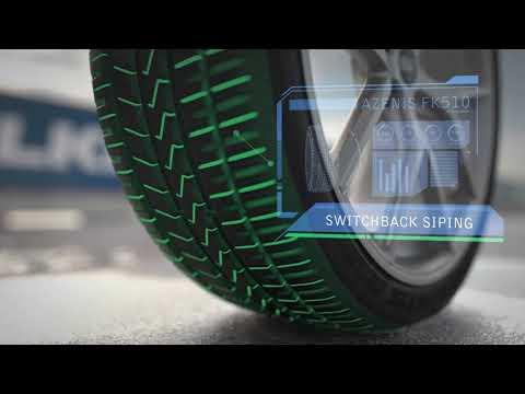 Falken Azenis FK510 Summer Ultra High Performance Tire