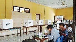 Pemungutan Suara Ulang di TPS 03 Desa Matang Ginalun Kabupaten Hulu Sungai Tengah