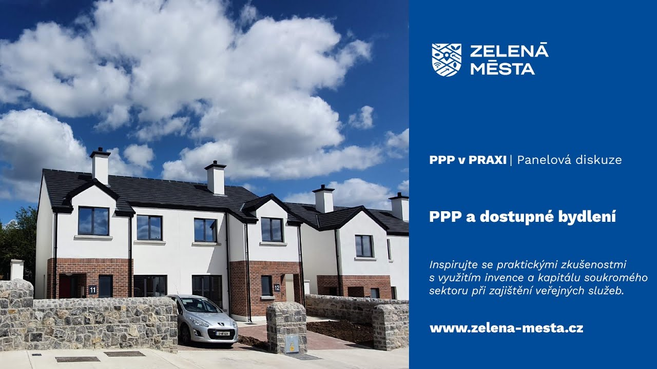 PPP v praxi: PPP a dostupné bydlení