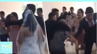 Wedding ceremony is interrupted by the least expected person | Positive